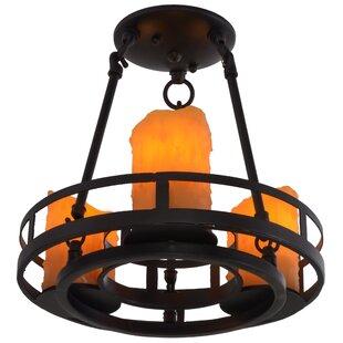 Barbury 3-Light Semi Flush Mount by Meyda Tiffany
