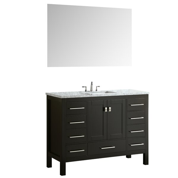 Brayden Studio Pichardo 42 Single Bathroom Vanity Set Reviews Wayfair