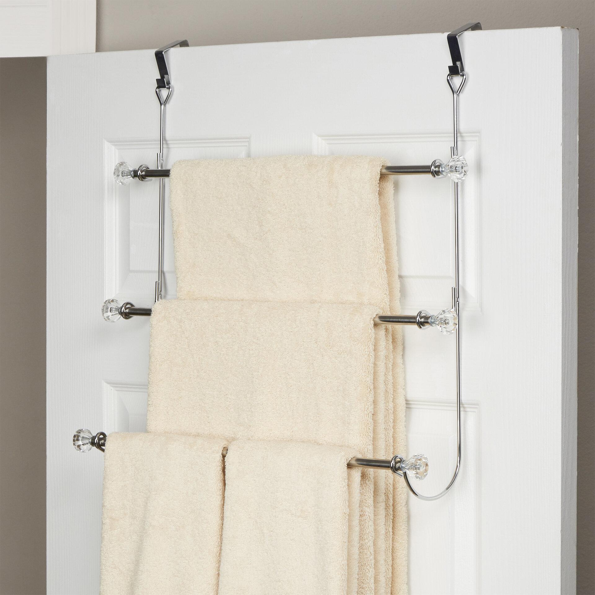 Rebrilliant Over The Door Towel Rack Reviews Wayfair