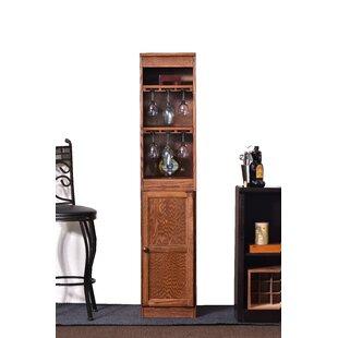 Concepts in Wood 21 Bottle Floor Wine Cabinet