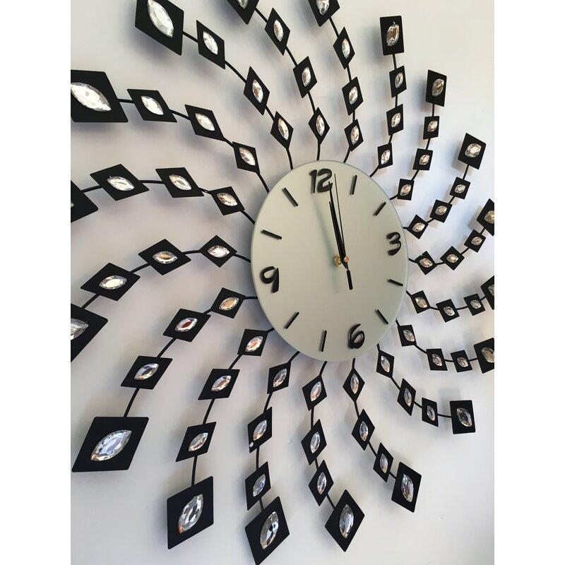 Ivy Bronx Melvina Wall Clock Reviews Wayfair