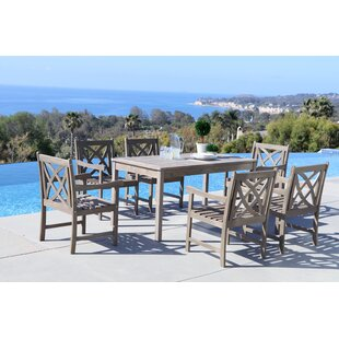 Darby Home Co Densmore 7 Piece Dining Set