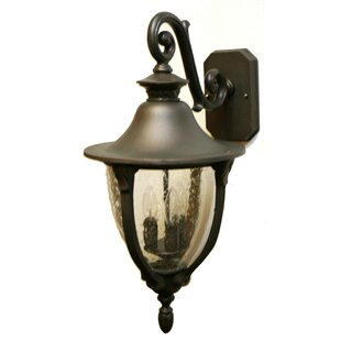 Buying Phillipstown 3-Light Outdoor Wall Lantern By Alcott Hill