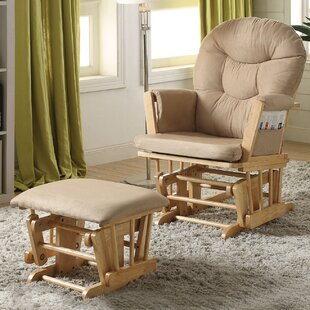 Rehan Glider and Ottoman by A&J Homes Studio