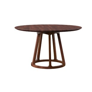 Liddle Solid Wood Dining Table by Mercury Row