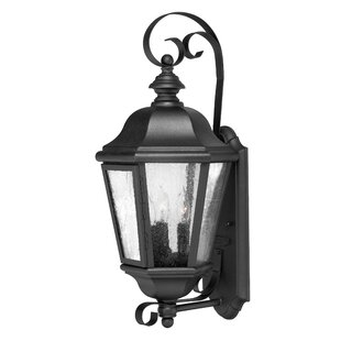 Compare Edgewater 3-Light Outdoor Wall Lantern By Hinkley Lighting