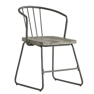 Timmins Iron Dining Chair (Set of 2) Williston Forge