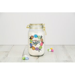 Easter Egg Hermetic Glass 1.56 qt. Kitchen Canister
