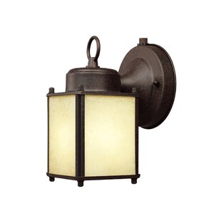 Krajewski 1-Light Outdoor Wall Lantern