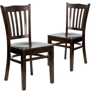 Chafin Solid Wood (Set Of 2) by Winston Porter Discount