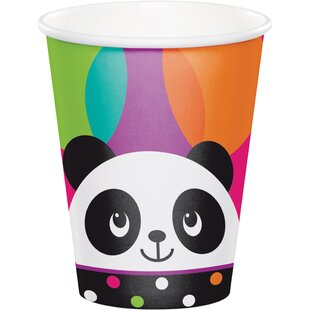 Panda Paper Disposable Cup (Set of 24)