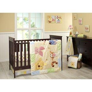 Disney Winnie The Pooh King Ed Crib Sheet