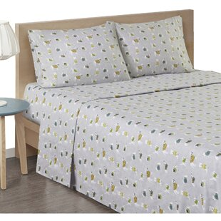 Browning Cozy Flannel Cotton Sheet Set by The Holiday Aisle Find