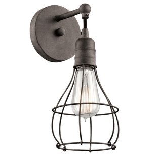 Kia 1-Light Wall Sconce by Williston Forge