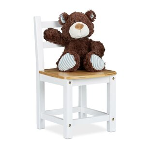 Bamboo Children's Chair by Relaxdays