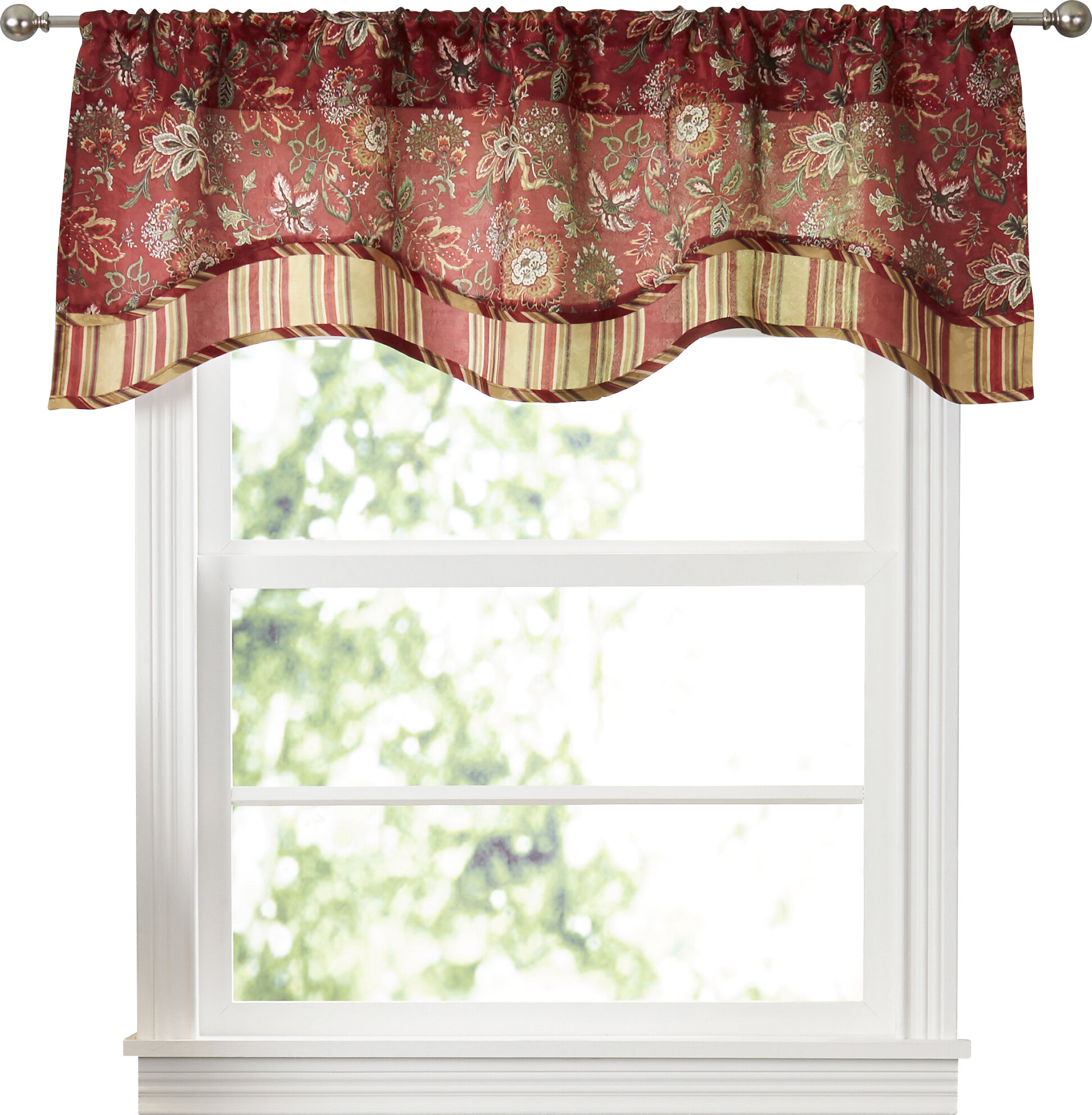 valance yellow pin dining valances lowes waverly blue room pinterest