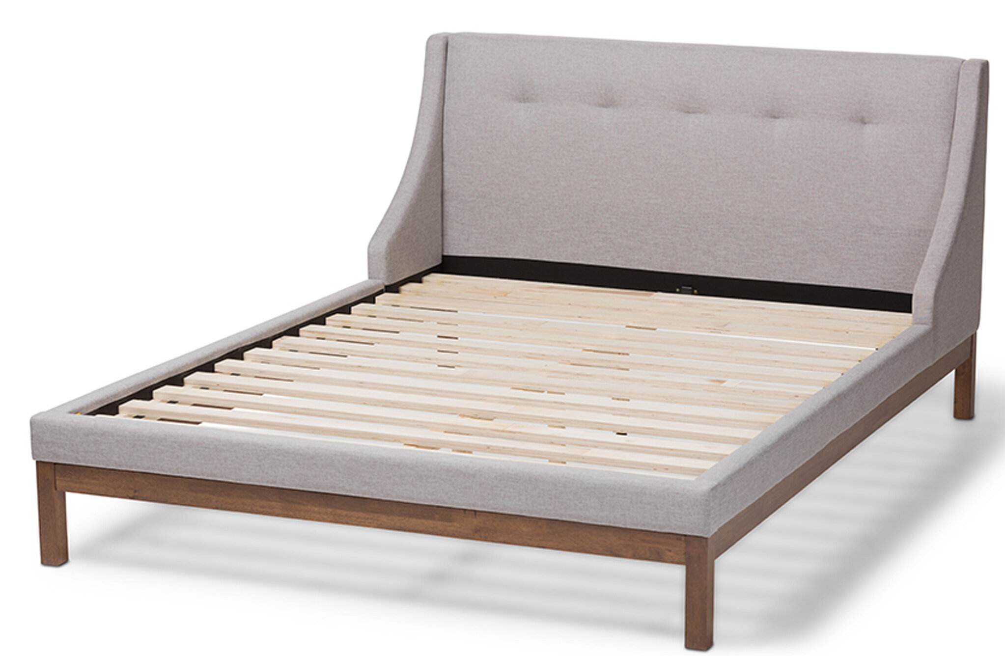 Latitude Run Bifrost Tufted Upholstered Low Profile Platform Bed Wayfair