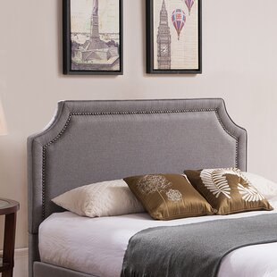 Scoggins Upholstered Panel Headboard by Alcott Hill