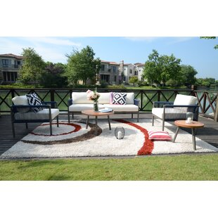 Newhaven 5 Piece Outdoor Conversation Set By Sol 72 Outdoor