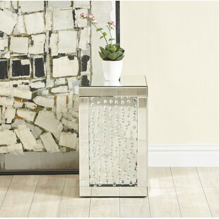 Hyslop Crystal End table