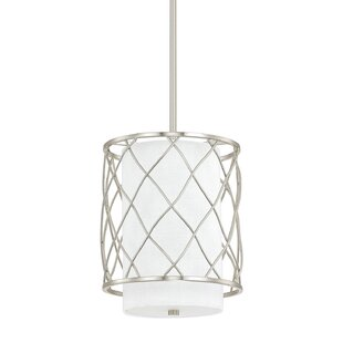 Donny Osmond Home Sawyer 2-Light Drum Pendant