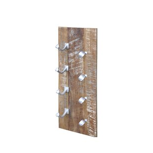 Yuba City 4 Bottle Wall Mounted Wine Rack..
