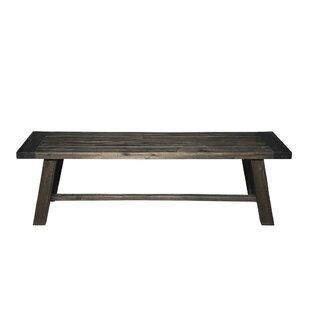 Skillern Acacia Wood Bench by Gracie Oaks