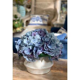 Hydrangeas Bouquet Floral Arrangement in Pot