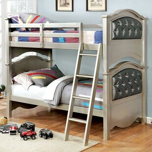 Bargain Funon Twin over Twin Bunk Bed by Harriet Bee Reviews (2019) & Buyer's Guide