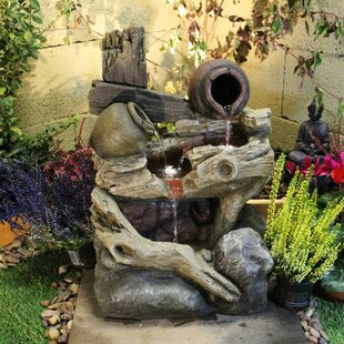 Pouring Jugs Resin Water Feature With Light By Sol 72 Outdoor