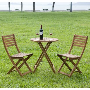3 Piece Round Bistro Set by HRH Designs