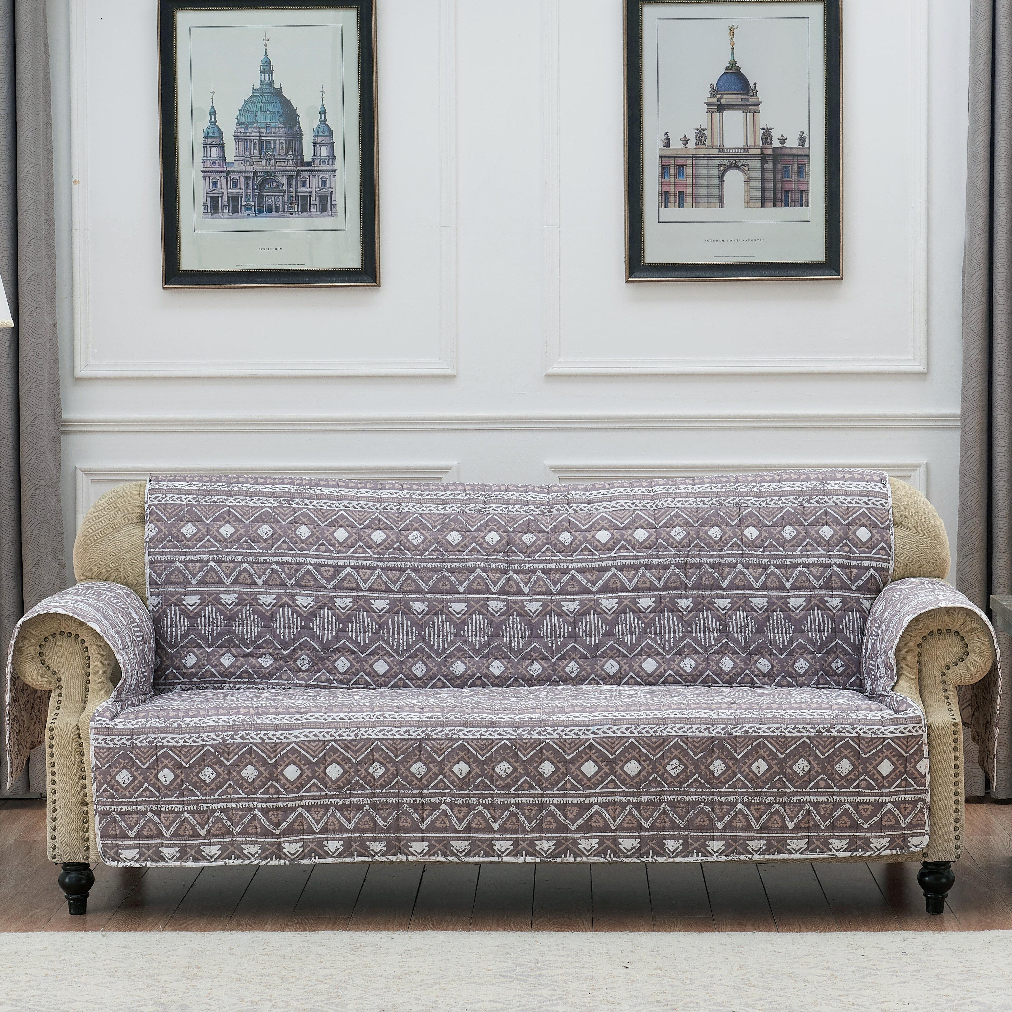 Union Rustic Boalt Sofa Slipcover Wayfair
