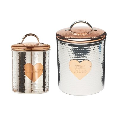 Set Of Silver Kitchen Canisters Amp Jars You Ll Love In 2019