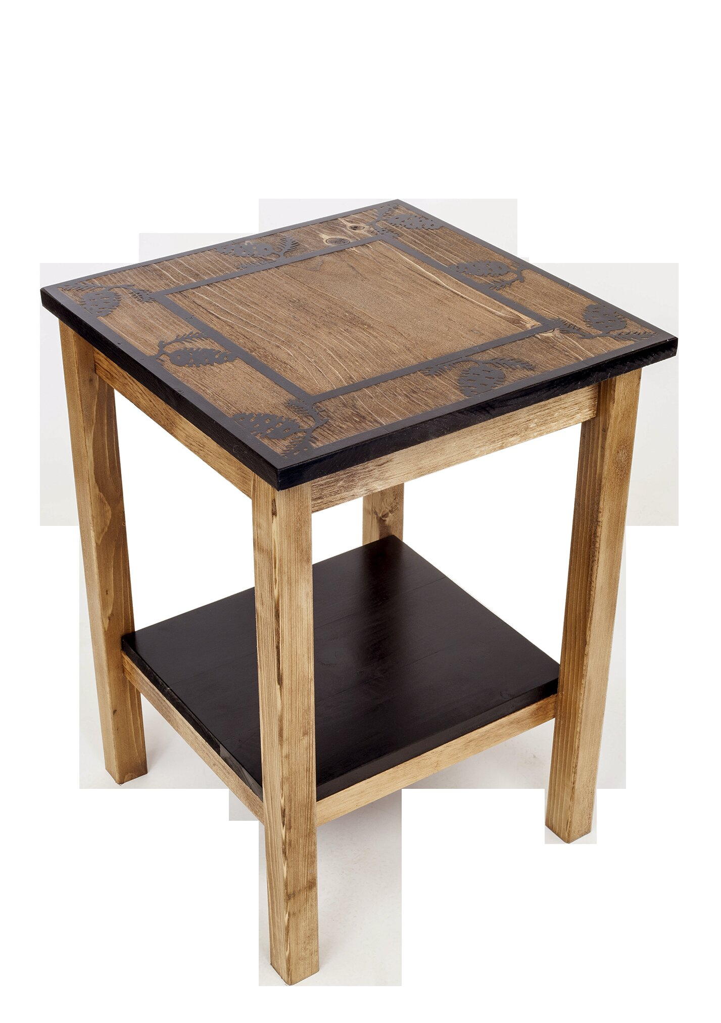 Distressed Finish Union Rustic End Side Tables You Ll Love In 2021 Wayfair