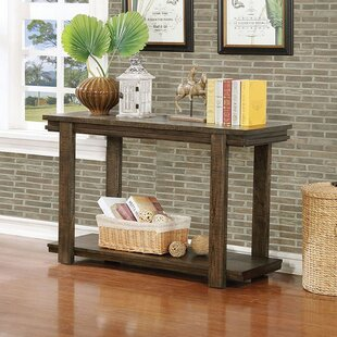 Donahue Rustic Console Table by Millwood Pines
