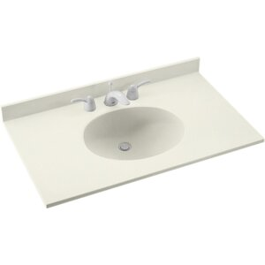 Ellipse 49 Single Bathroom Vanity Top