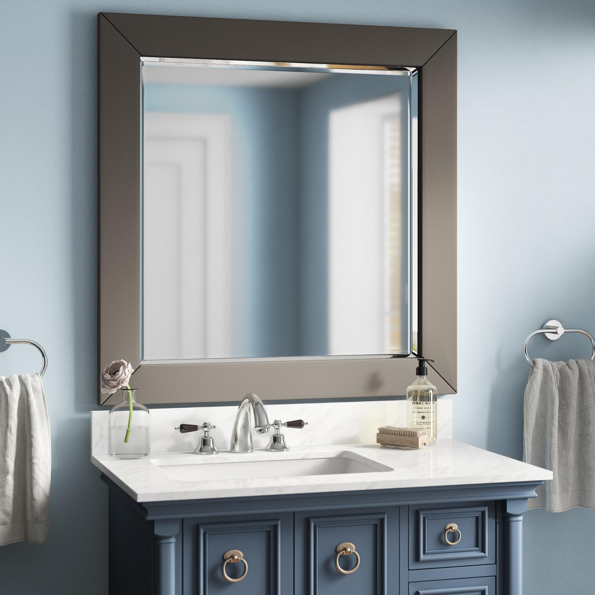 Brayden Studio Zeringue Bathroom Vanity Mirror Wayfair