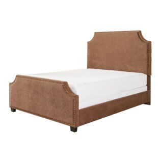 Bulpitt Upholstered Panel Bed by Alcott Hill