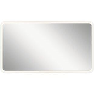 Orren Ellis Ritzman LED Backlit Rectangle Accent Mirror