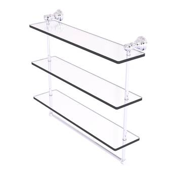 Ws Bath Collections Vanessia Double Wall Shelf