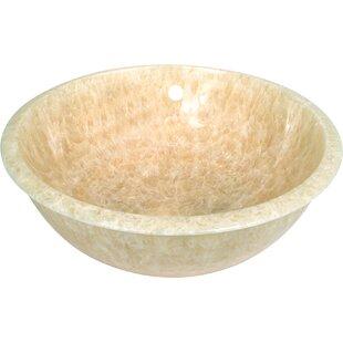 Find Natural Stone Sinks Stone Circular Undermount Bathroom Sink By D'Vontz