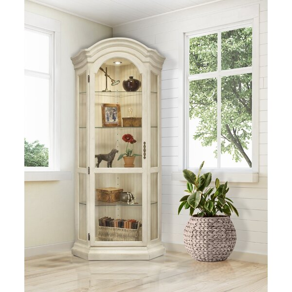 Shelia Corner Curio Cabinet Reviews