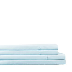 Siegle 450 Thread Count Solid Color 100% Cotton Sheet Set