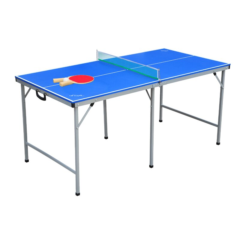 Airzone Play Portable Foldable Indoor Outdoor Conference Table Tennis Table With Paddles And Balls Wayfair