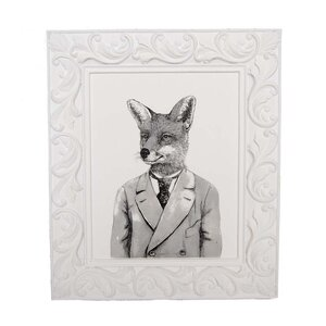 Fox Framed Graphic Art