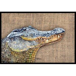 Alligator Doormat
