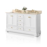 60 Double Bathroom Vanity Set by Ancerre Designs