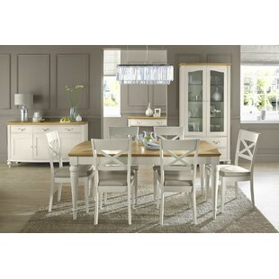 Review Osvaldo Extendable Dining Set With 6 Chairs