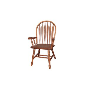 Annie Solid Wood Dining Chair by Rosalind Wheeler
