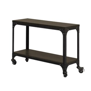 Buono Wheels Console Table by Williston Forge